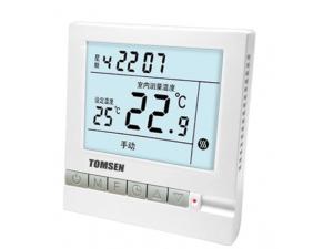 TM801系列大屏液晶显示定时型温控器(电暖/水暖)