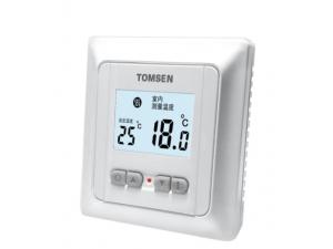 TM805系列中屏液晶实用型温控器(电暖/水暖)