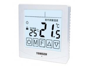 TM813系列大屏液晶显示触摸型温控器(电暖/水暖)
