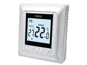 TM603欧式工程型中央空调温控器